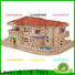 Lovelybird Toys 3d wooden house puzzles factory for sale