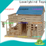 Lovelybird Toys new 3d wooden puzzle house factory for business