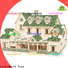 Lovelybird Toys hot sale 3d wooden puzzle house supply for business