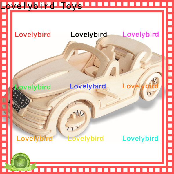Lovelybird Toys new 3d airplane puzzle supply for sale
