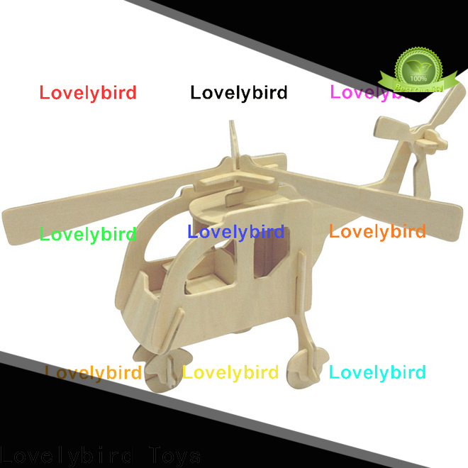 Lovelybird Toys 3d wooden car puzzle company for business