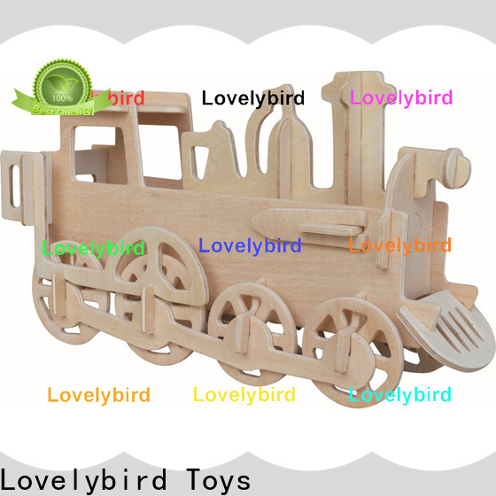 Lovelybird Toys 3d airplane puzzle suppliers for kids