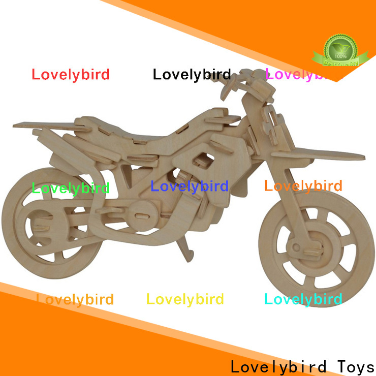 new 3d wooden puzzle car factory for sale