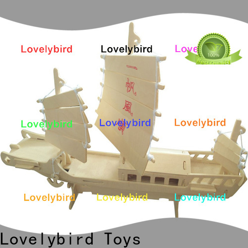 Lovelybird Toys custom 3d airplane puzzle suppliers for kids
