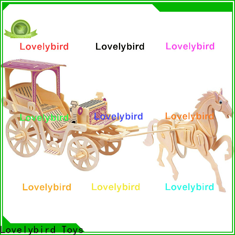 Lovelybird Toys 3d airplane puzzle suppliers for adults