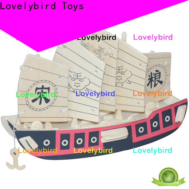 Lovelybird Toys latest 3d wooden puzzle ship company for business