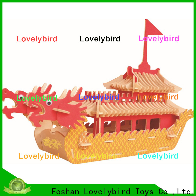 Lovelybird Toys 3d airplane puzzle company for sale