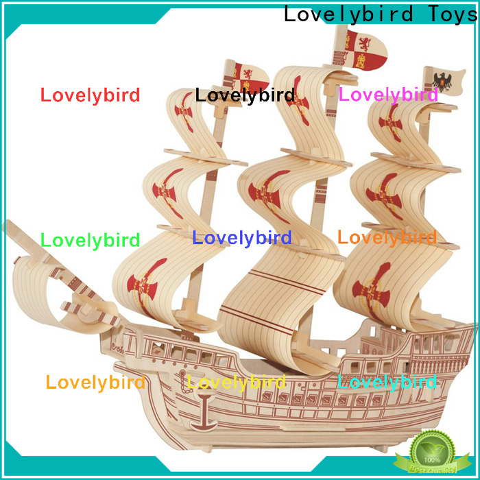 Lovelybird Toys high-quality 3d airplane puzzle company for kids