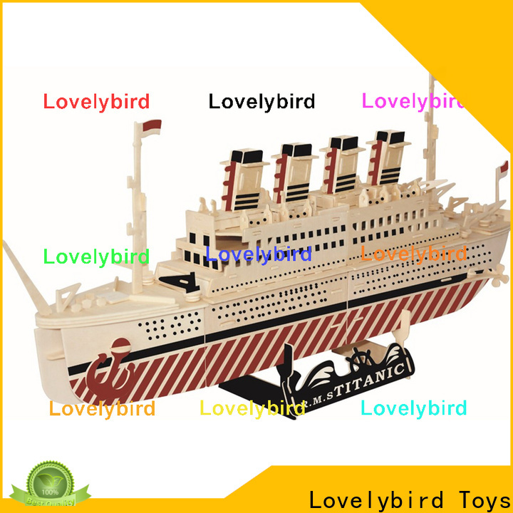 wholesale 3d airplane puzzle company for entertainment