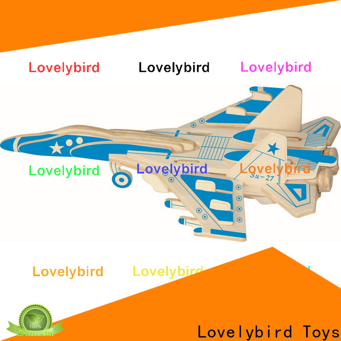 Lovelybird Toys 3d puzzle military suppliers for present
