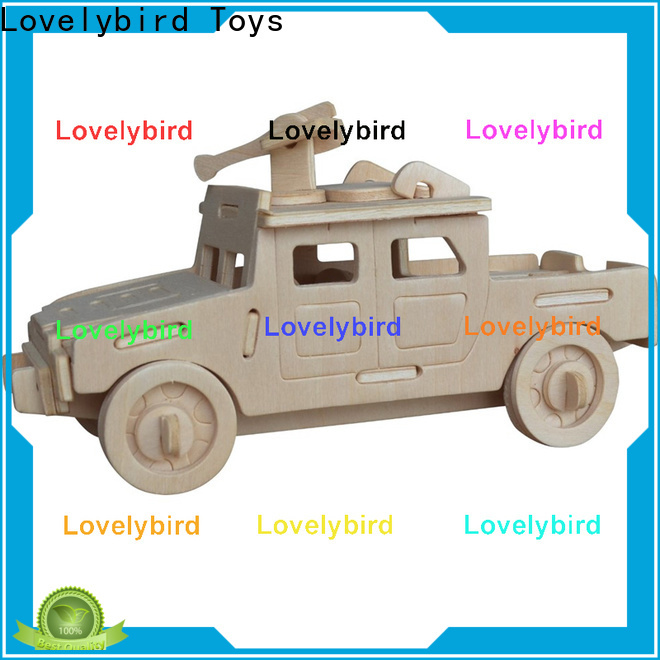Lovelybird Toys best 3d puzzle military suppliers for business