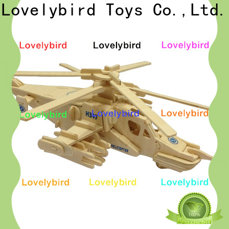 Lovelybird Toys 3d puzzle military supply for present