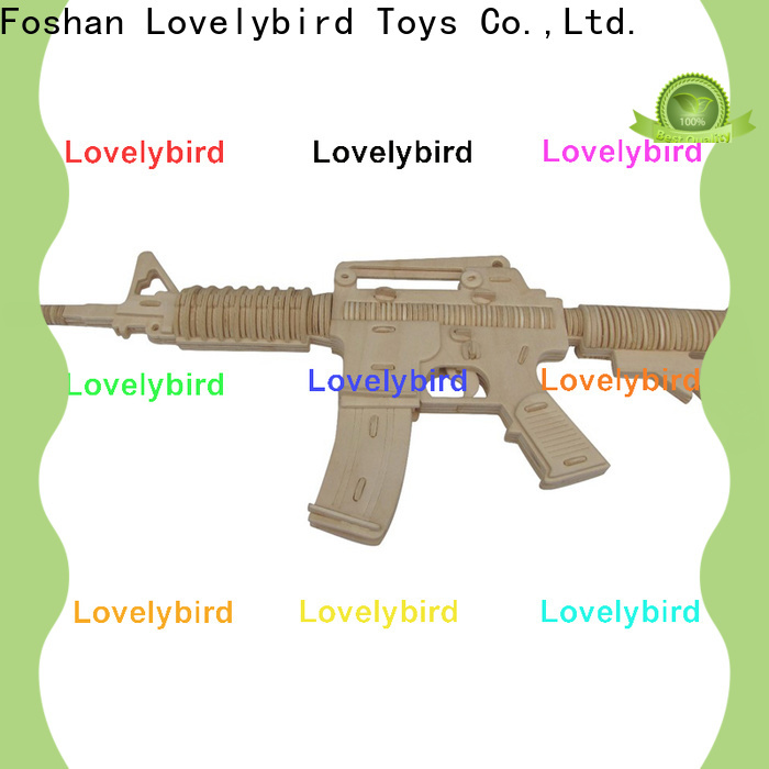 Lovelybird Toys superior quality 3d puzzle military supply for entertainment