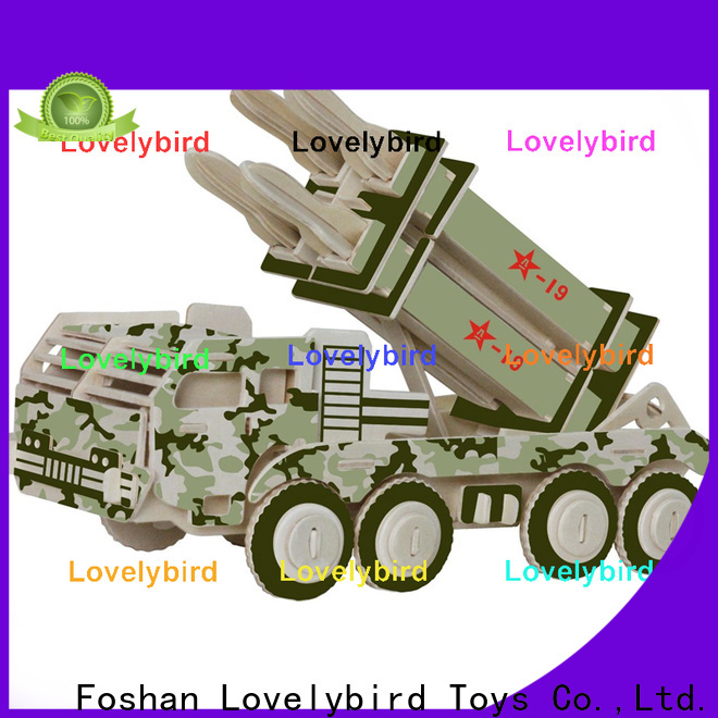 superior quality 3d puzzle military supply for entertainment