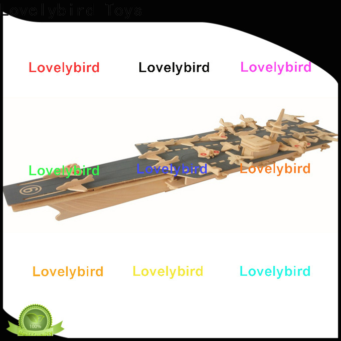 Lovelybird Toys 3d puzzle military supply for sale