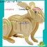 Lovelybird Toys new 3d wooden puzzle animals supply for business