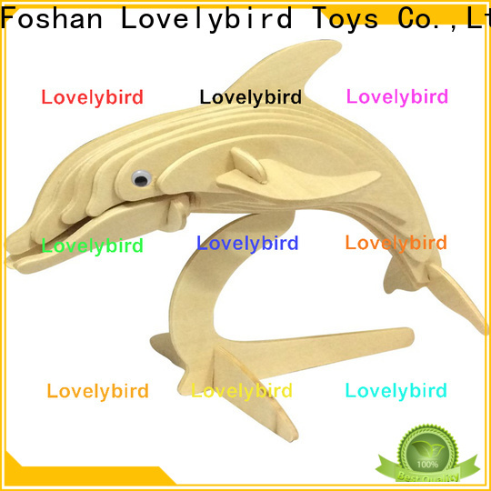Lovelybird Toys wooden 3d animal puzzles supply for adults