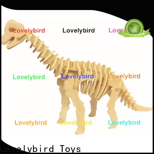 Lovelybird Toys top 3d wooden animal puzzle factory for entertainment