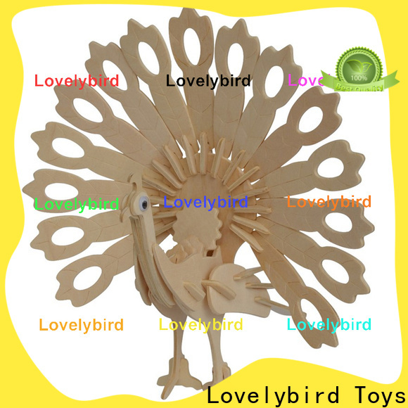 latest 3d wooden animal puzzle supply for kids
