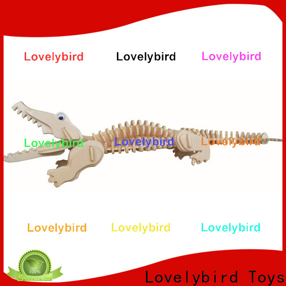 fast delivery 3d wooden animal puzzle supply for adults
