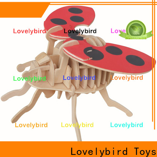 Lovelybird Toys best 3d wooden animal puzzle supply for entertainment