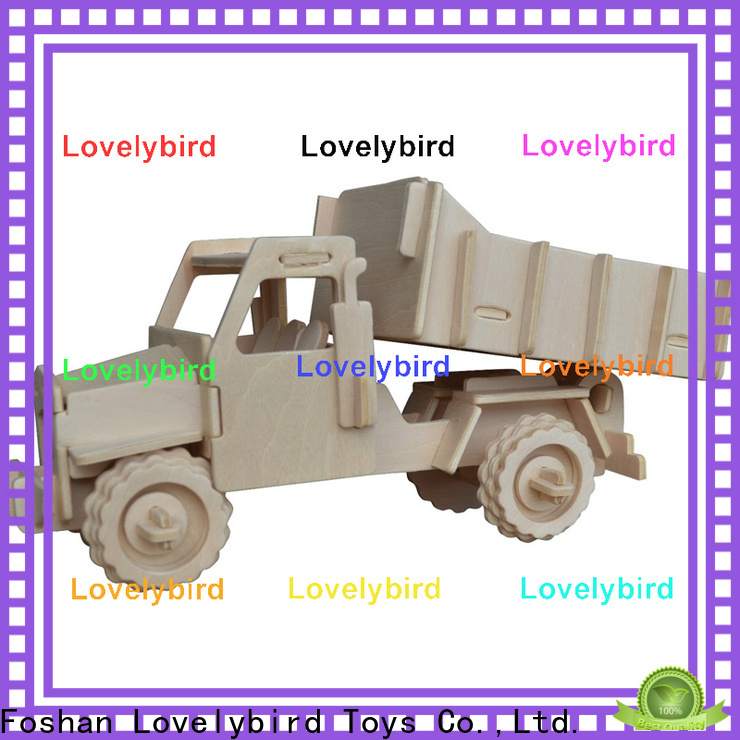 Lovelybird Toys best 3d truck puzzle manufacturers for present