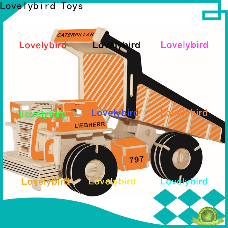 Lovelybird Toys high-quality 3d puzzle truck company for adults