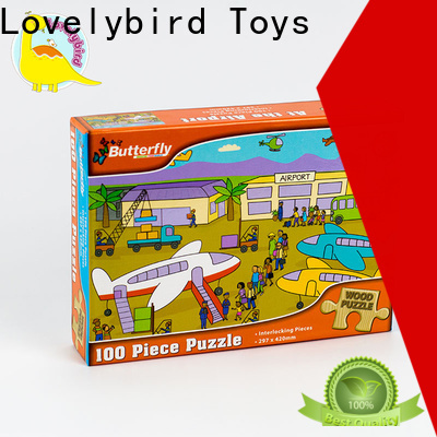 Lovelybird Toys latest wooden puzzles for kids with frame for sale