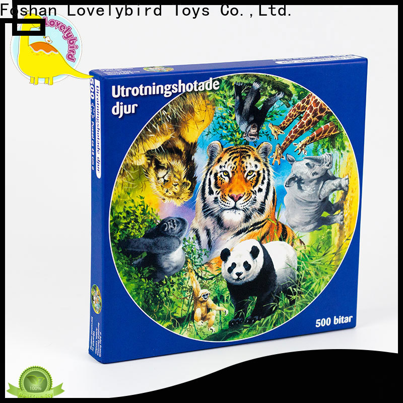 Lovelybird Toys 500 jigsaw puzzles suppliers for kids