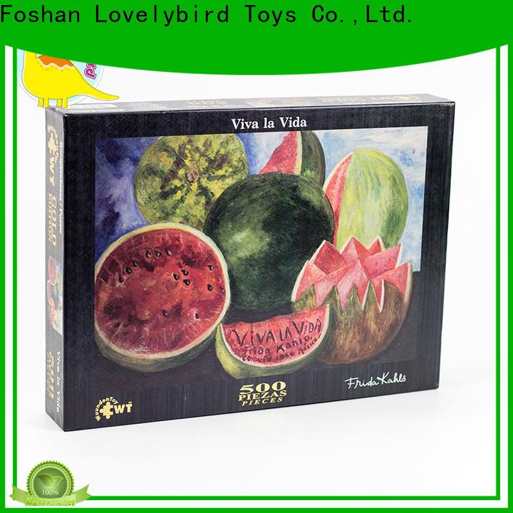 Lovelybird Toys jigsaw puzzles gratuits maker for kids