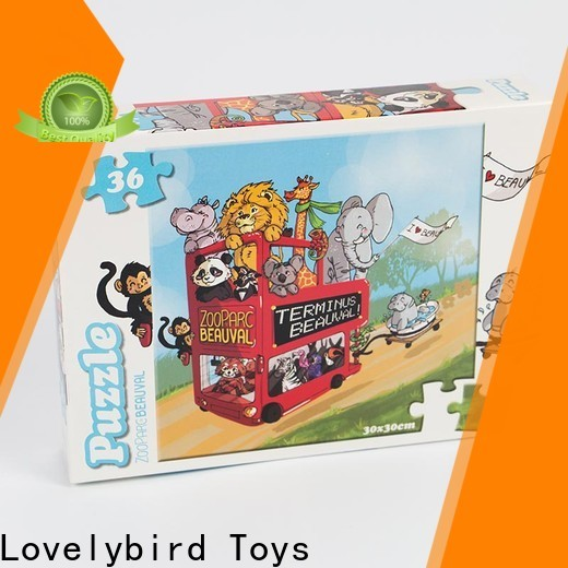 Lovelybird Toys top cartoon jigsaw puzzles manufacturers for party