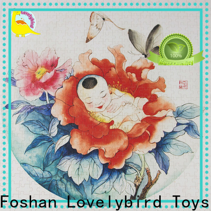 new wooden puzzles with poster for sale