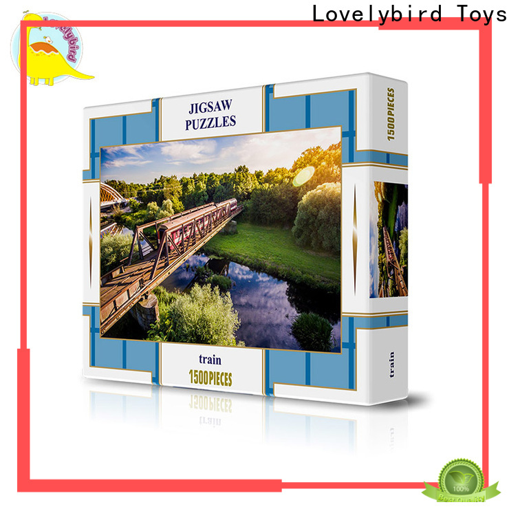 Lovelybird Toys hot sale 1500 jigsaw puzzles manufacturers wholesale