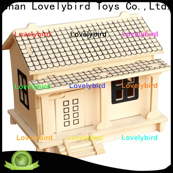 latest 3d wooden puzzle house suppliers for kids