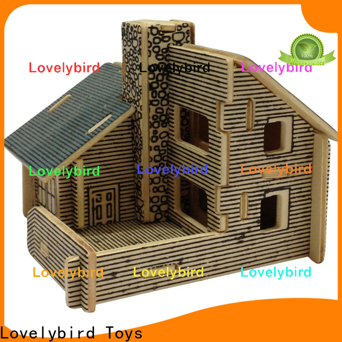 best 3d wooden house puzzles factory for adults