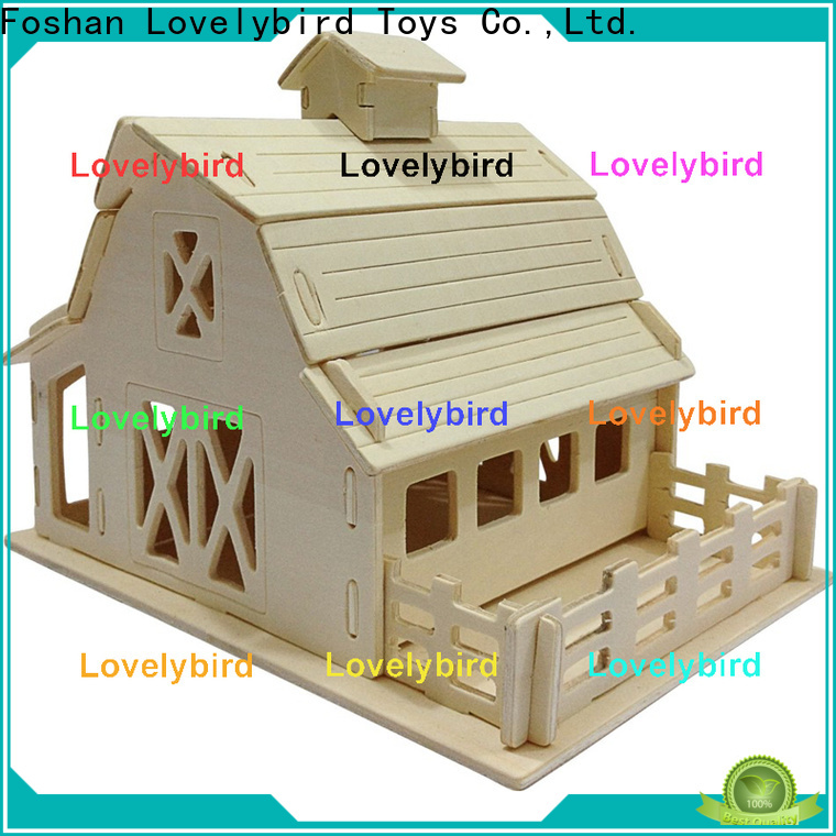 high-quality 3d building puzzle suppliers for present