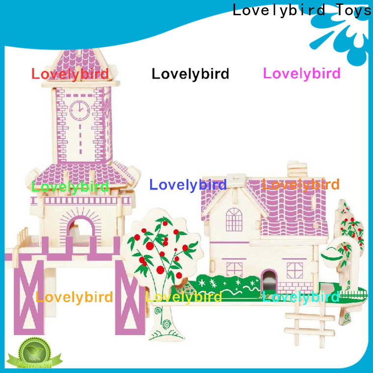 Lovelybird Toys top 3d building puzzle suppliers for business