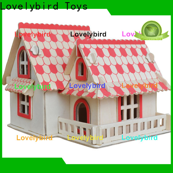 Lovelybird Toys custom 3d building puzzle manufacturers for sale