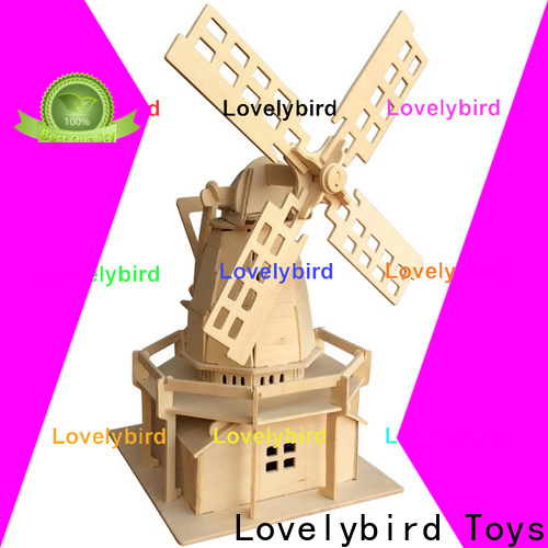 Lovelybird Toys latest 3d building puzzle company for adults