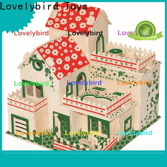 Lovelybird Toys latest 3d wooden puzzle house factory for adults