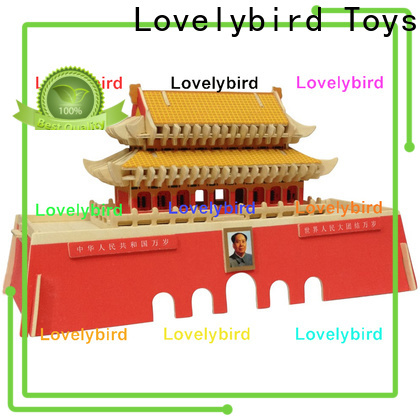 Lovelybird Toys hot sale 3d building puzzle company for business