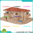 Lovelybird Toys 3d wooden puzzle house suppliers for sale