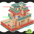 Lovelybird Toys 3d wooden puzzle house factory for adults