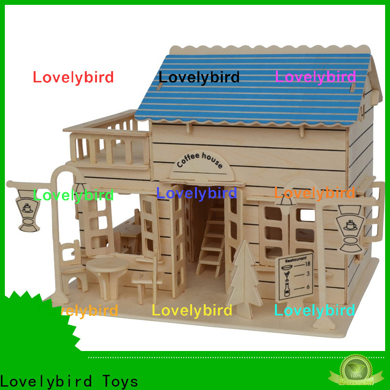 Lovelybird Toys 3d building puzzle supply for present