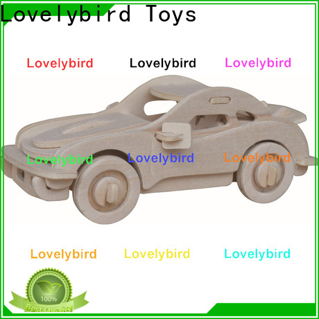 top 3d wooden car puzzle factory for present