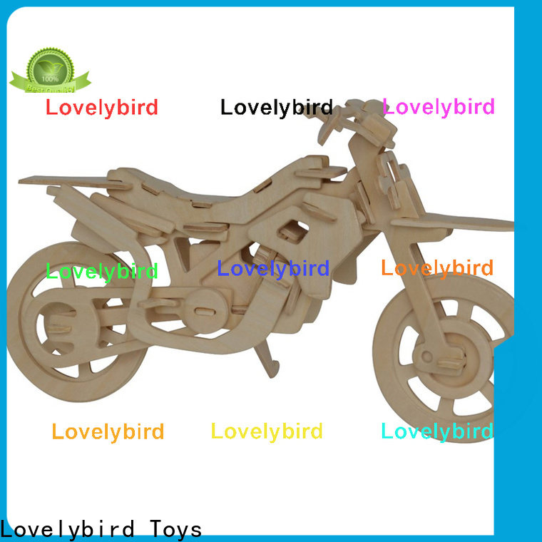 Lovelybird Toys 3d wooden puzzle car manufacturers for adults