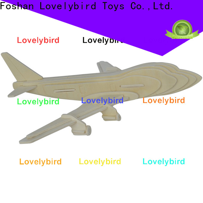 Lovelybird Toys best 3d wooden car puzzle supply for adults