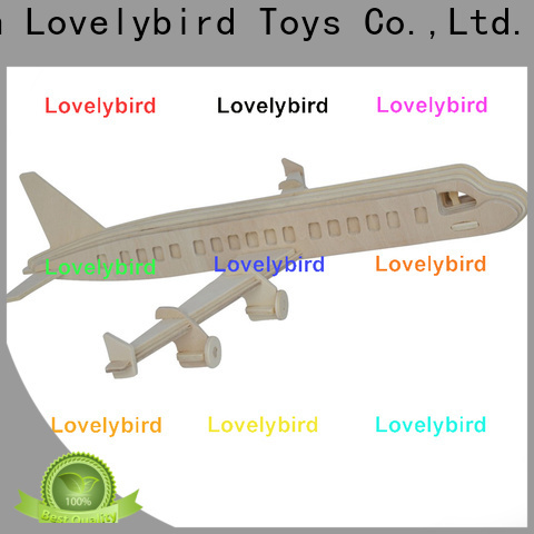 high-quality 3d wooden puzzle car suppliers for sale