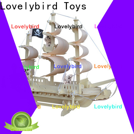 Lovelybird Toys latest 3d wooden puzzle car factory for entertainment