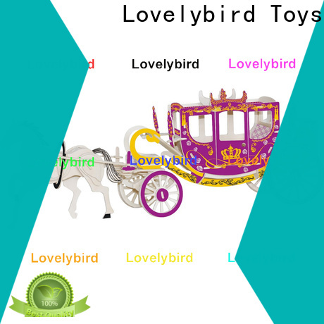 Lovelybird Toys 3d wooden puzzle car factory for business